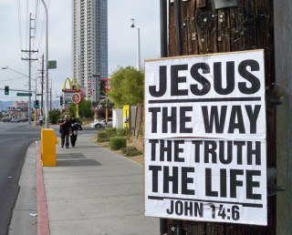 Jesus Is The True Way To Make Heaven