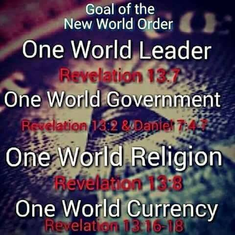 New World Order Goals
